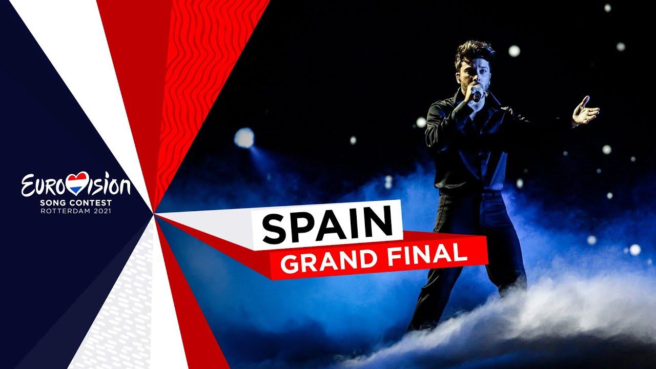 Actuació de Blas Cantó a Eurovisió 2021