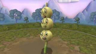 SporeCreatureだんご3兄弟