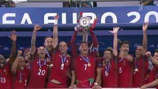 Португалия выиграла Чемпионат Европы по футболу.