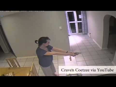 , title : 'WATCH: Woman fires shots at home intruders'