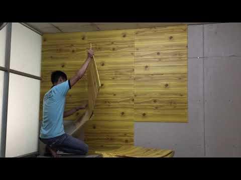 cách thi công xốp dán tường. Đẹp nhất Sài Gòn