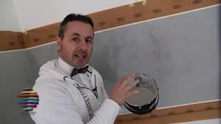 Incollare piastrelle su muro imbiancato elegant come fare il