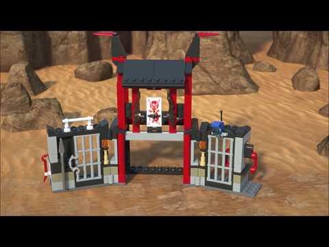 Конструктор Побег из тюрьмы Криптариум - LEGO NINJAGO - фото № 6