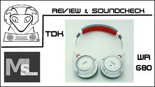 Review & Soundcheck Bluetooth Kopfhörer TDK WR680 - Bester Kopfhörer seiner Klasse! (deutch/german)