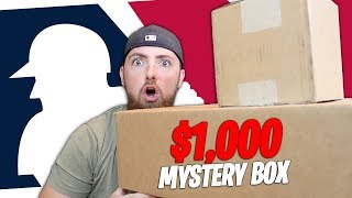 OPENING A HUGE $1,000 MLB MYSTERY BOX!! (AMAZING ITEMS!)