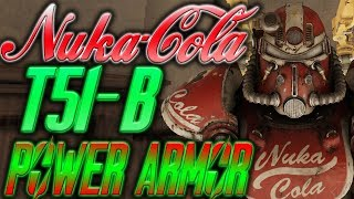 fallout 76 HOW TO GET NUKA COLA POWER ARMOR   fallout 76 How to get T51 b Power Armor