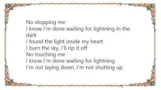 Cheryl - Waiting for Lighting Lyrics