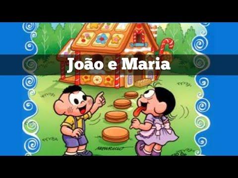 Cascão e Magali em João e Maria ( Maurício de Sousa) completo historinha infantil.
