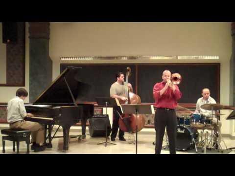 """David Phy DMA jazz trombone recital Sept 20th 2009 """"Mission"""" @ U of Illinois"""