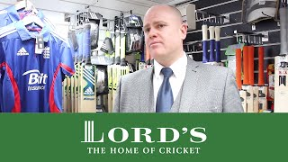 New Cricket Equipment Shop At Lords | Lords Buying Guide