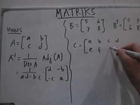 mp4 Invers Matriks, download Invers Matriks video klip Invers Matriks