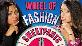 HOW TO STYLE SWEATPANTS | Wheel Of Fashion w/ Niki and Gabi