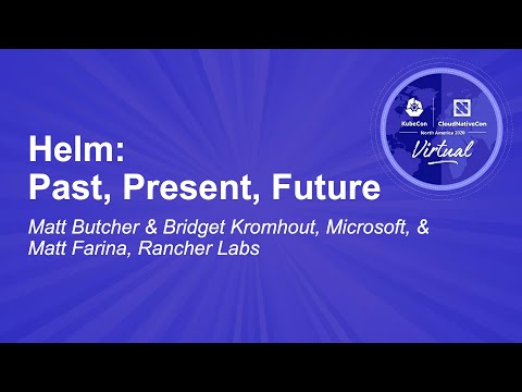 Image thumbnail for talk Helm: Past, Present, Future
