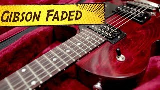 Testei A Gibson Les Paul Studio Faded!