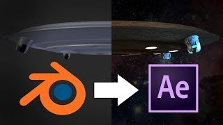 Blender to After Effects Compositing Tutorial