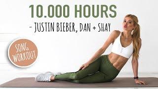 Justin Bieber & Dan + Shay   10.000 Hours AB WORKOUT   SLOW & INTENSE  No Equipment I Pamela Reif