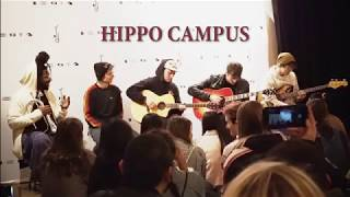 Hippo Campus - Sula - Tuesday - Boyish - Live Acoustic in Austin Texas