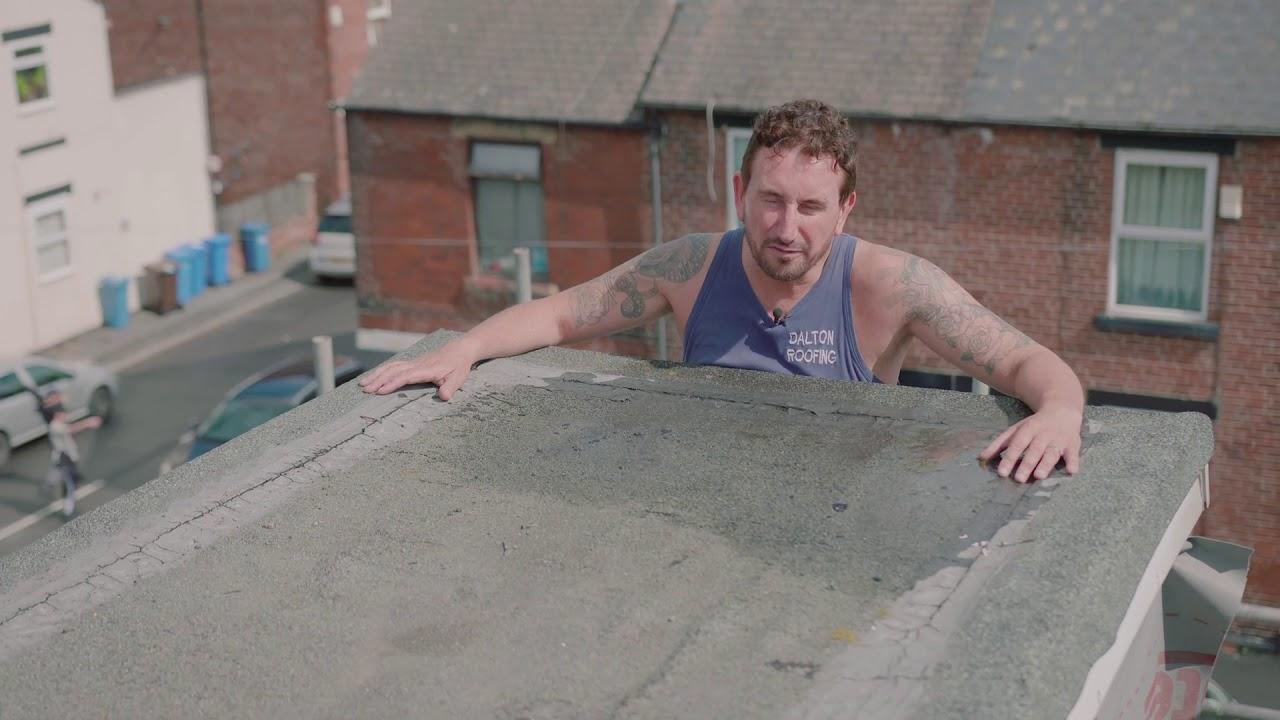 Flat Dormer Roof
