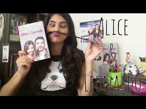 Livro Alice e Leonardo | Ingrid Callado