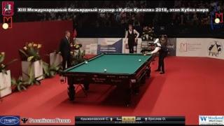 Финал Крыжановский Сергей - Еркулев Олег «Кубок Кремля»2018