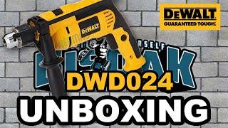 Unboxing Dewalt DWD024 Drill