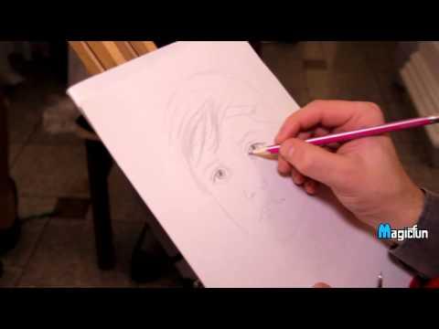 Художник-портретист, відео 1