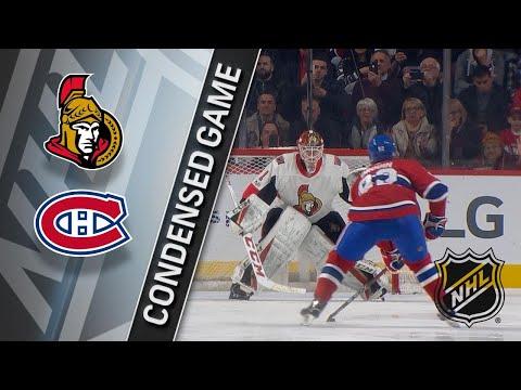 11/29/17 Condensed Game: Senators @ Canadiens