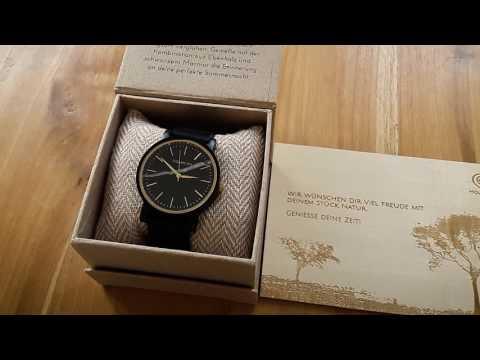 Holzkern | Stylische Uhren aus Stein und Holz | Kai groomt