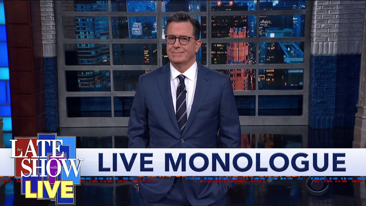Stephen Colbert's LIVE Post-Debate Monologue: Fury Road To The White House 2020 thumbnail