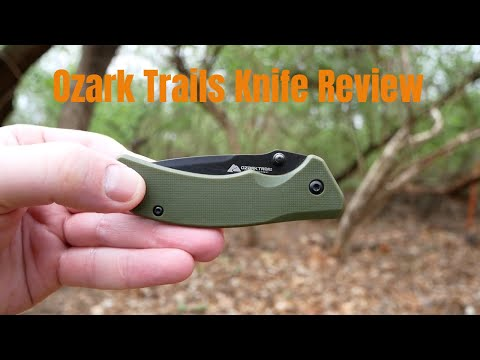 Ozark Trail EDC Pocket Knife Review Cheap But Nice