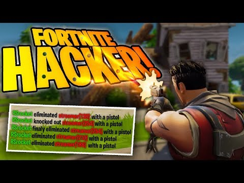 POTKAL JSEM HACKERA VE FORTNITE BATTLE ROYALE!?