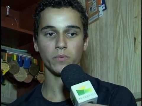 Atleta Marcelo Scolari no Mundial de Atletismo