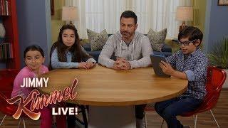 Kids Teach Jimmy Kimmel About ASMR