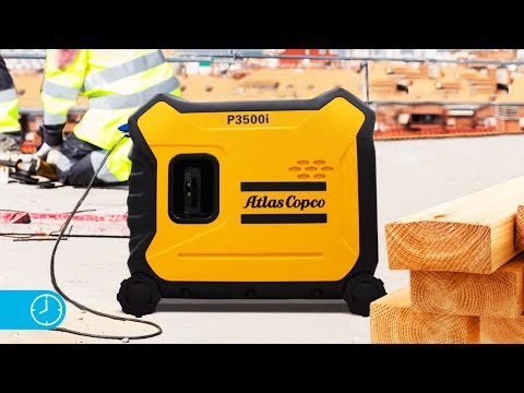 A day in the life of an iP Portable Generator for everyday use Atlas Copco - zdjęcie