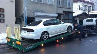 ヤフオクで車検1年以上付の7万円代のレガシィB4を仕入れたんじゃが、それはそれは…^_^;