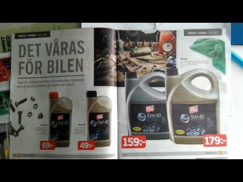 Lidl 5W40 engine oil the same as Pennasol Super Pace?