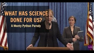 What Has Science Ever Done For Us? (A Monty Python Parody - What Have The Romans Ever Done For Us?
