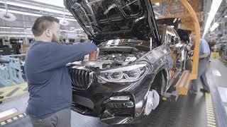2019 BMW X4 Production