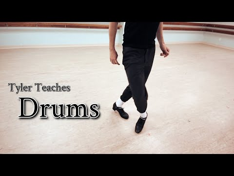 Tyler Teaches: DRUMS! (A technique that helped me)〡Learn Irish Dance Steps & Tricks At Home & Online