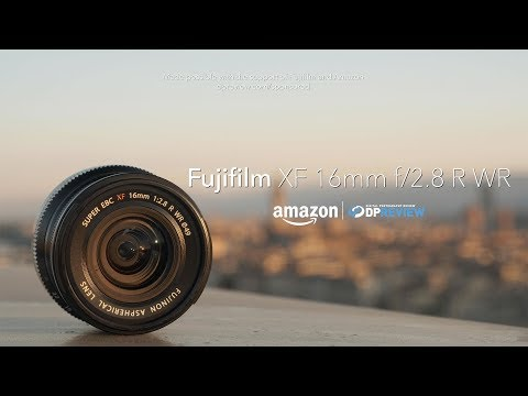 External Review Video thvDSQ-kFhs for Fujifilm FUJINON XF16mmF2.8 R WR Lens