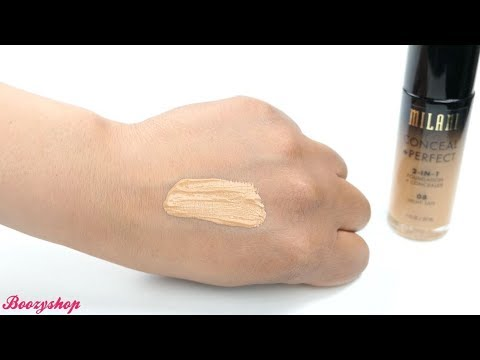 Milani Milani Conceal & Perfect 2-in-1 Foundation and Concealer Light Tan