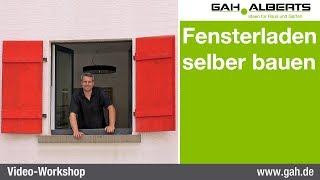 GAH-Alberts: Fensterladen selbst bauen