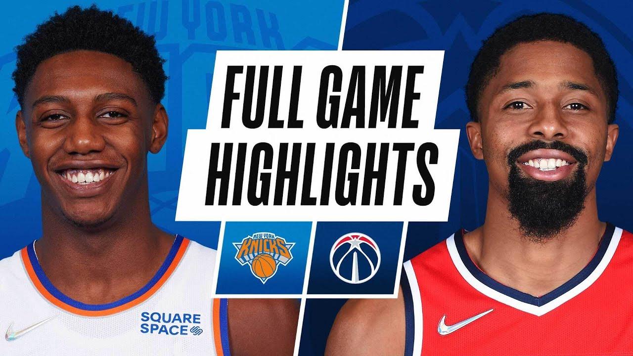 KNICKS at WIZARDS | NBA PRESEASON FULL GAME HIGHLIGHTS | October 9, 2021