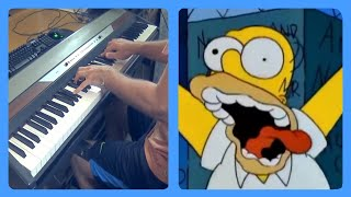 """Video thumbnail of """"No TV And No Beer (The Simpsons) Piano Dub"""""""