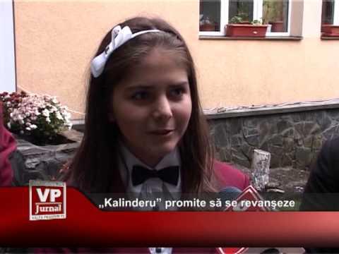 """""""Kalinderu"""" promite să se revanşeze"""