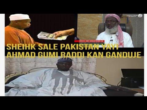 Takaddama Tsakanin Sale Pakistan Da Dr Ahmad Gumi Kan Rashawar Ganduje Allah yakyauta