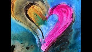 Heart Art And Heart Paintings By Ivan Guaderrama
