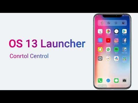 OS13 Launcher Prime: Control Center, i OS13 Theme v4.8 (Mod)