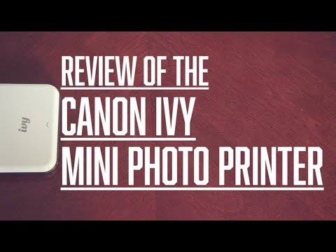 Canon Ivy Review (The Ink Is In The Paper)