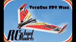 TechOne FPV Wing 900 обзор и сборка.